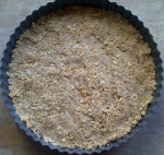 Image of biscuit base for cheesecake