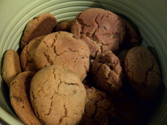 Image of cookies in a tin