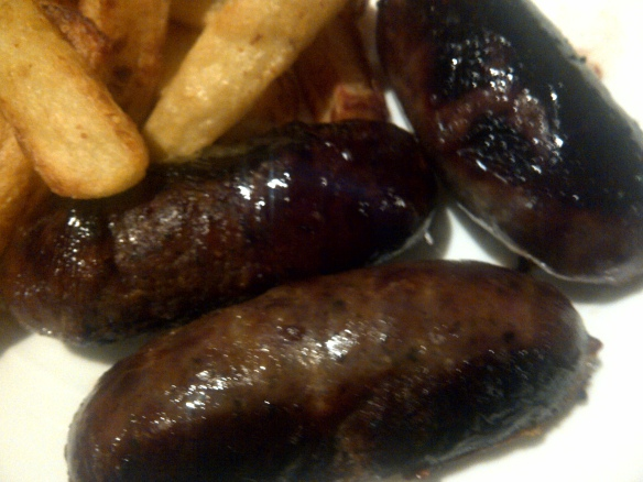 Image of cooked sausages