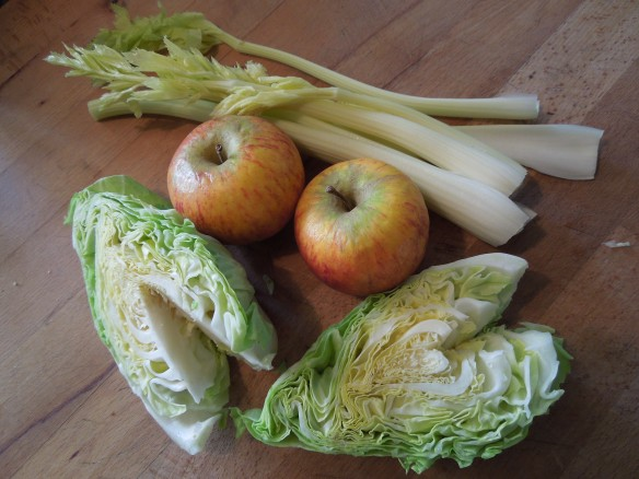 Image of coleslaw ingredients
