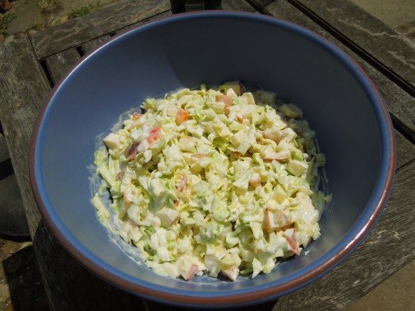 Image of Portly Family Coleslaw in a bowl