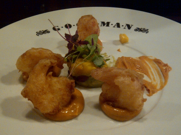 Image of tiger prawn tempura