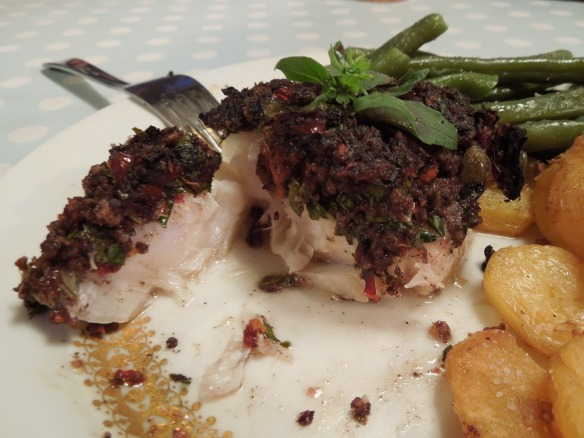 Image of cod served on a plate