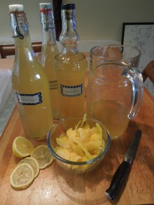 Image of bottled lemonade