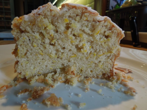 Image of courgette lemon cake