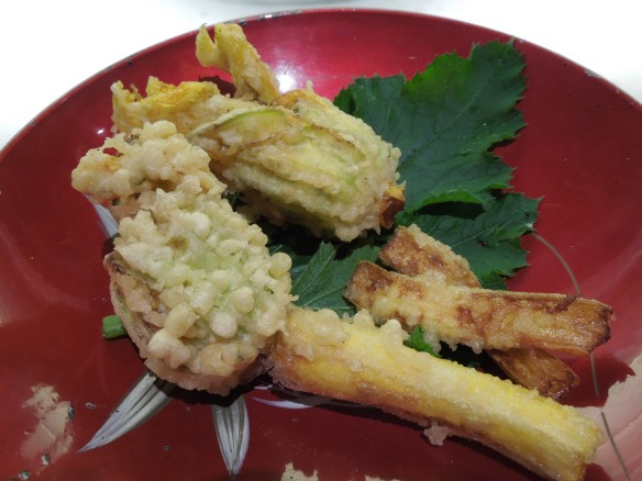 Image of courgettes fritters