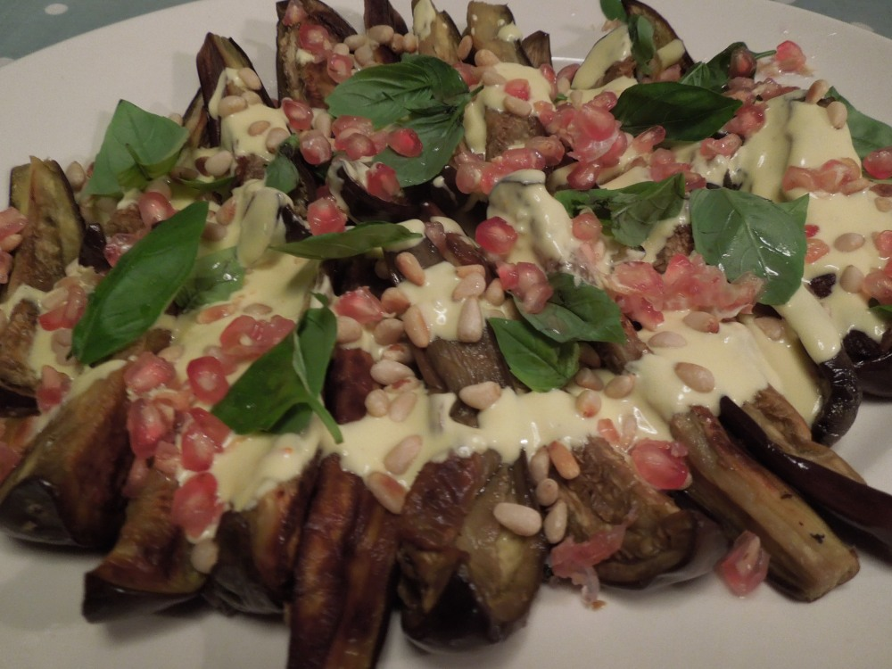 Image of aubergine salad