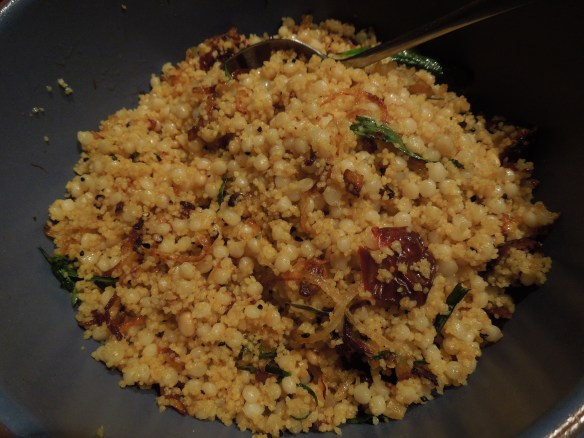 Image of couscous and mograbiah dish