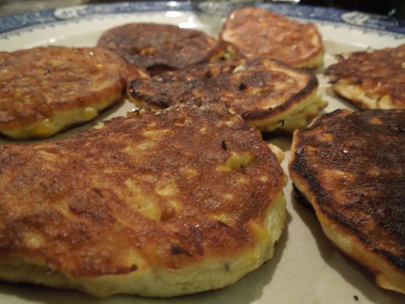 Image of sweetcorn fritters