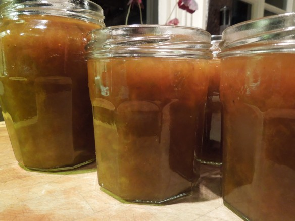 Image of jars of wild plum jam
