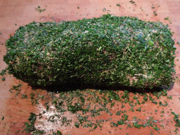 Image of fillet in herb crust