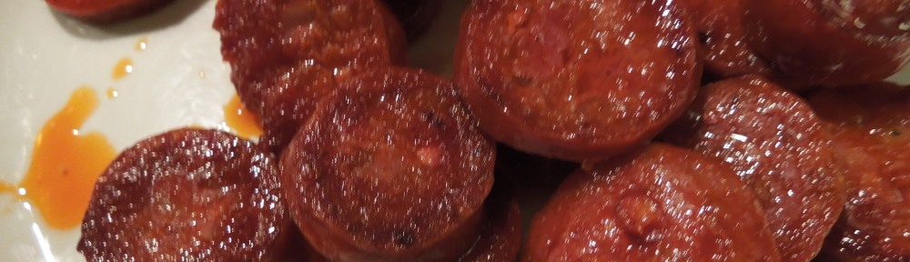 Image of sauteed chorizo slices