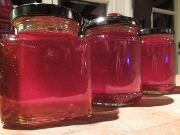 Image of jars of chilli jelly