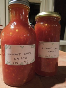 Image of bottles of Sweet Chilli Sauce
