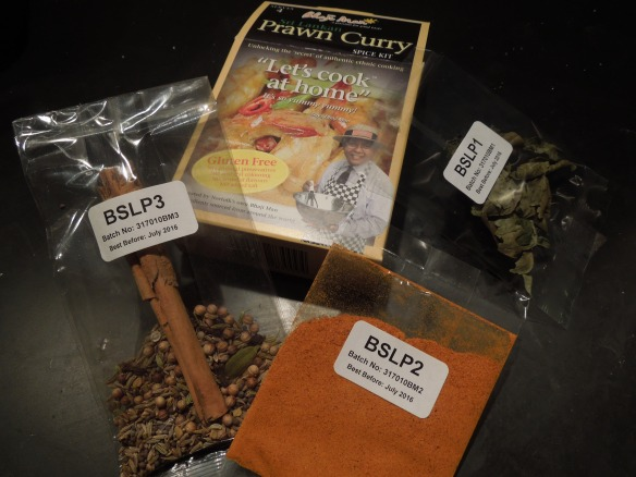 Image of a Bhaji Man curry kit