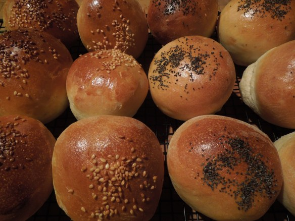Image of home-made bread rolls