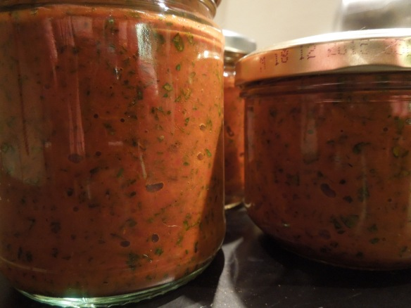 Image of jars of harissa