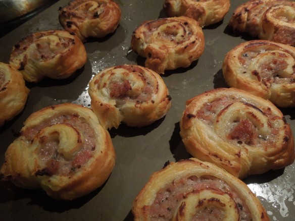 Image of cooked pinwheels