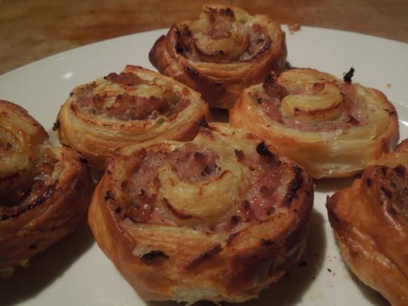Image of sausage pinwheels