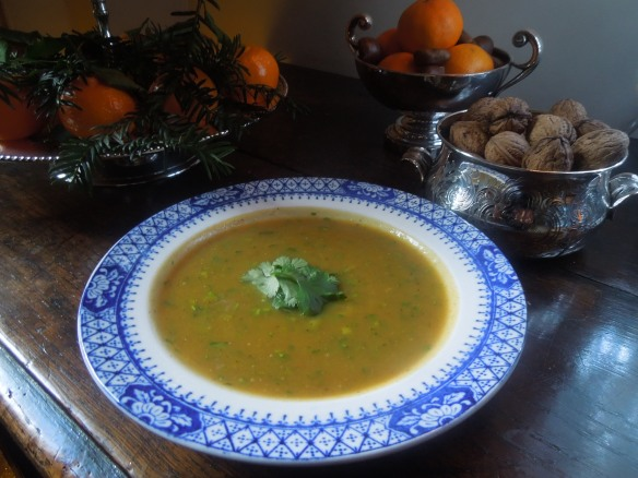 Image of spicy pumpkin soup