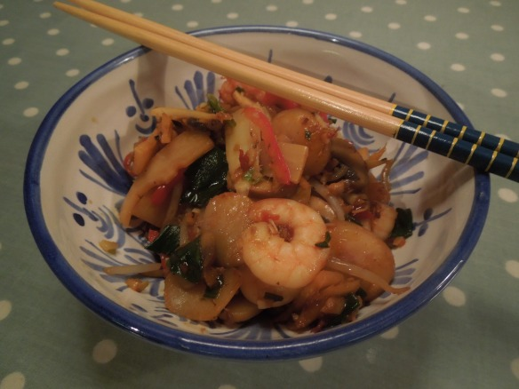 Image of stir fry served in a bowl