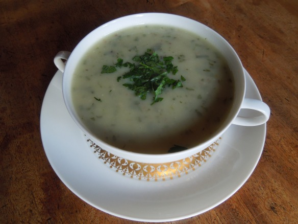Image of a bowl of Palestine Soup