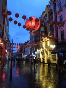 Image of London's Chinatown