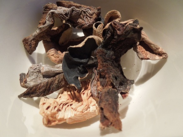 Image of dried porcini mushrooms