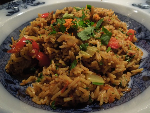 Image of pilaf served in a bowl