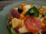 Image of exotic fruit salad