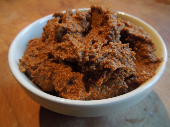 Image of a bowl of mole paste