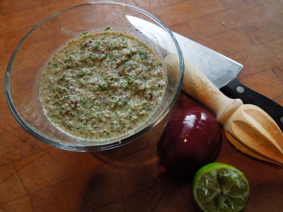 Image of mint chutney