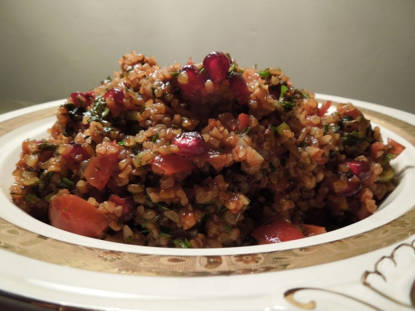 Image of bulgar wheat salad