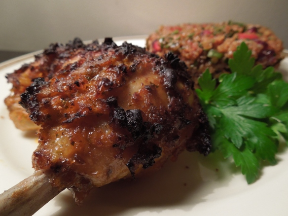 Image of chicken with kisir
