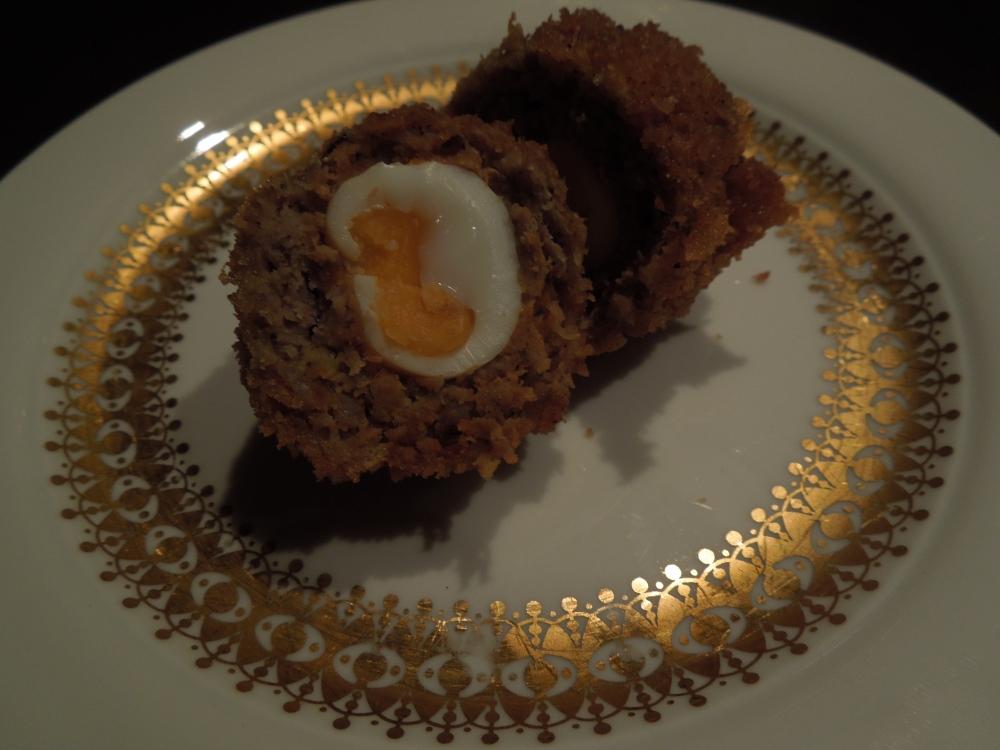 Image of scotch egg cut open
