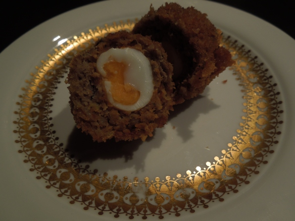 Image of scotch egg cut open