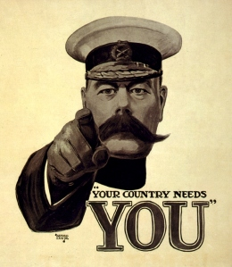 Image of Kitchener wartime poster
