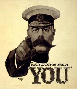 Image of Kitchener wartime poster
