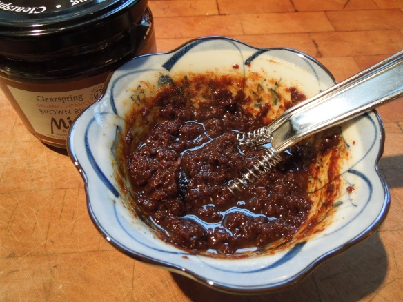 Image of miso paste mix
