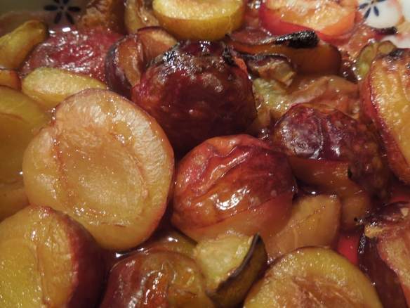 Image of plum compote