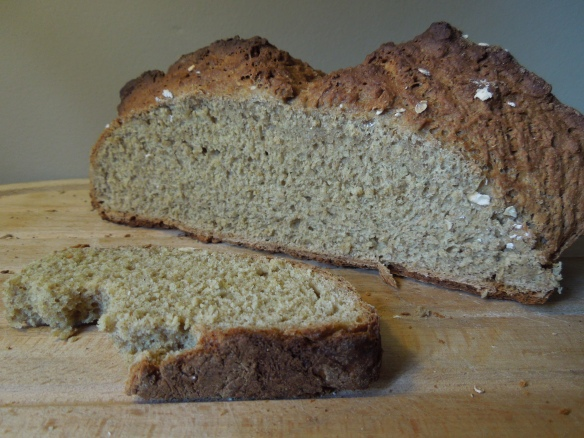 Image of soda bread, sliced