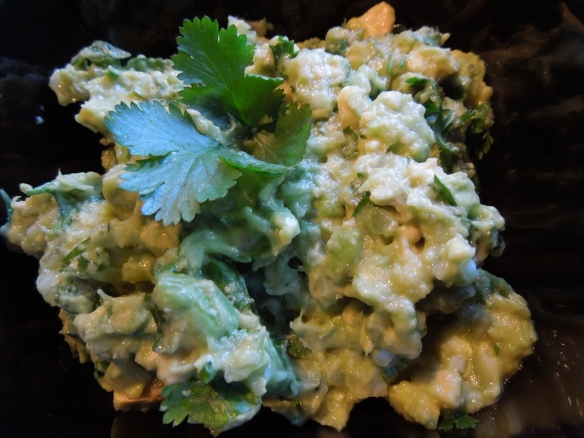 Image of avocado salsa