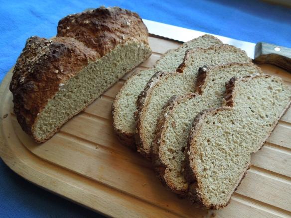 Image of sliced soda bread