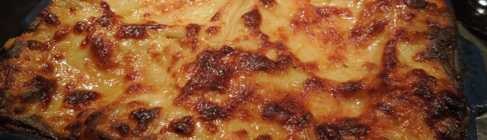Image of roasted vegetable lasagne