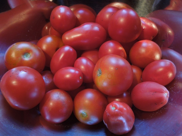 Image of a bowl of tomatoes