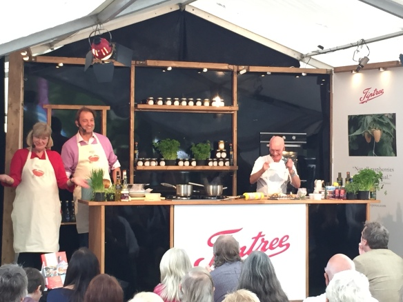 Image of Galton Blackiston at Aldeburgh food festival