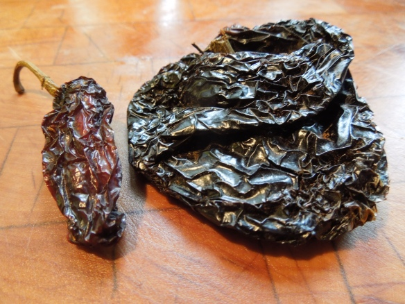 Image of chipotle and ancho chillies