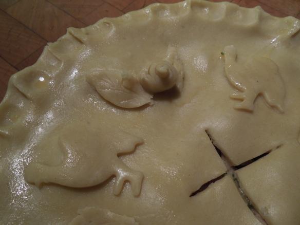Image of uncooked pie