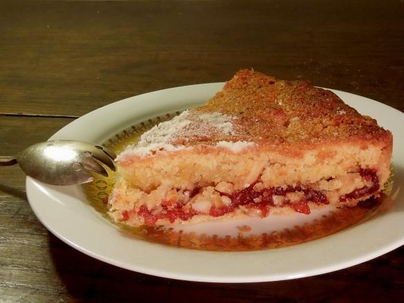 Image of a slice of Tarta de Santiago
