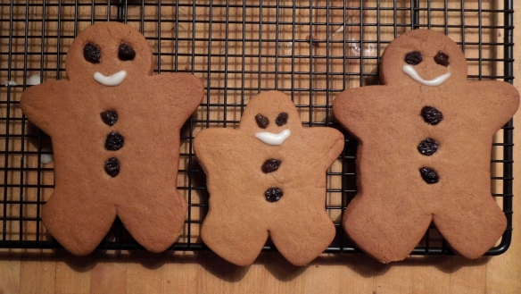 Image of traditional gingerbread men